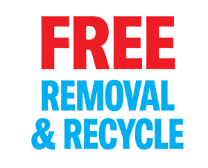 free removal and recycle